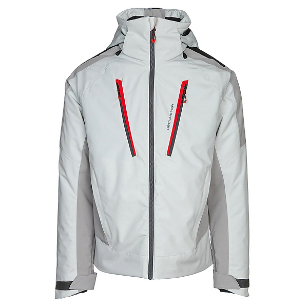 Obermeyer Foundation Mens Insulated Ski Jacket, Fog, 600