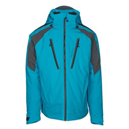 Obermeyer Foundation Mens Insulated Ski Jacket, Polar Blue, 256