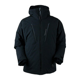 Obermeyer Foundation Tall Mens Insulated Ski Jacket, Black, 256