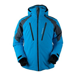 Obermeyer Foundation Tall Mens Insulated Ski Jacket, Polar Blue, 256
