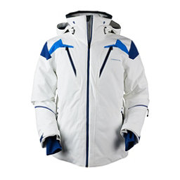 Obermeyer Viking Mens Insulated Ski Jacket, White, 256