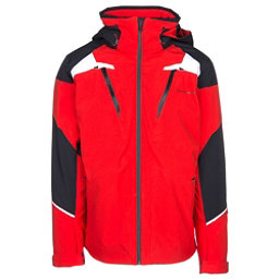 Obermeyer Viking Mens Insulated Ski Jacket, Red, 256