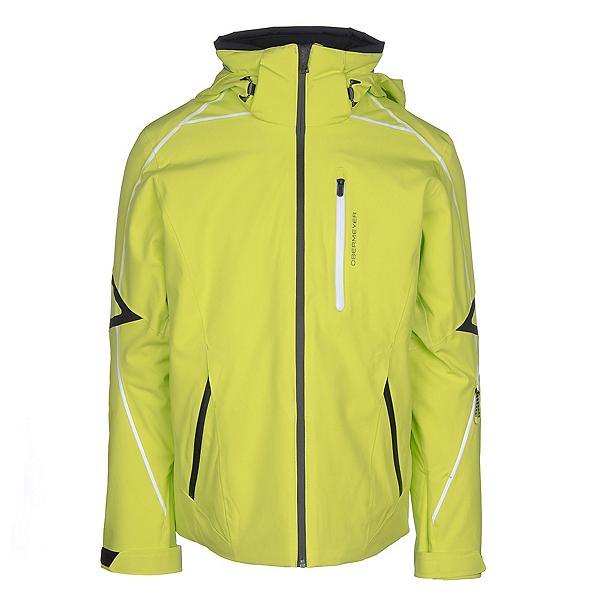 Obermeyer Charger Mens Insulated Ski Jacket, Green Flash, 600