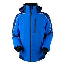 Obermeyer Charger Mens Insulated Ski Jacket, Stellar Blue, 256