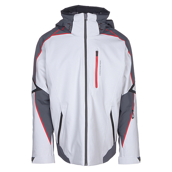 Obermeyer Charger Mens Insulated Ski Jacket, Fog, 600