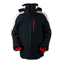 Obermeyer Charger Tall Mens Insulated Ski Jacket, Black, 256