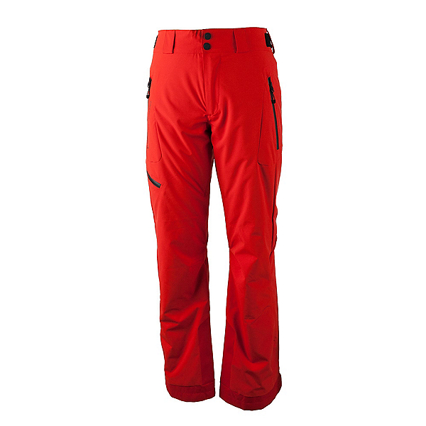Obermeyer Force Long Mens Ski Pants, Red, 600