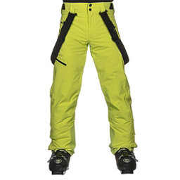 Obermeyer Force Suspender Mens Ski Pants, Green Flash, 256