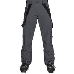 Obermeyer Force Suspender Mens Ski Pants, Ebony, 256