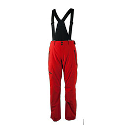 Obermeyer Force Suspender Short Mens Ski Pants, Red, 256