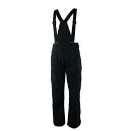 Obermeyer Force Suspender Short Mens Ski Pants, Black, 256