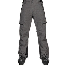 Obermeyer Ballistic Mens Ski Pants, Dark Heather Grey, 256