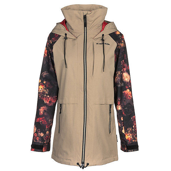 Armada Gypsum Womens Shell Ski Jacket, Khaki, 600