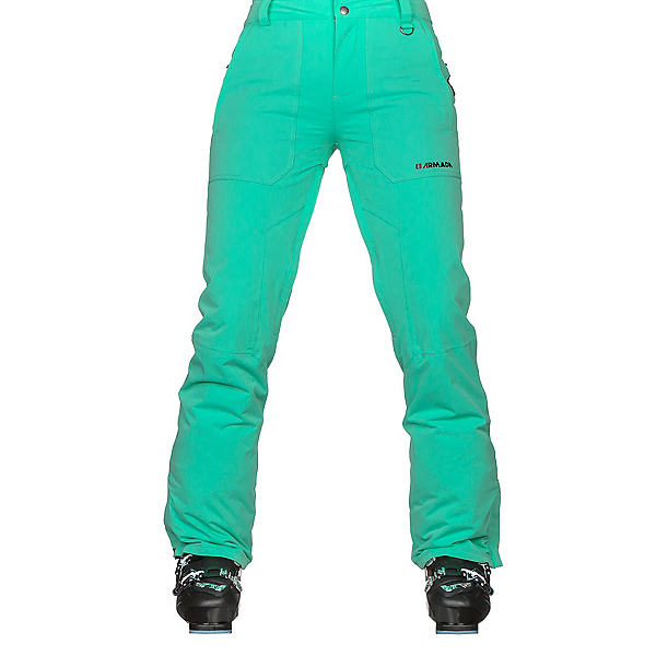 Armada Lenox Insulated Womens Ski Pants, Wintergreen, 600
