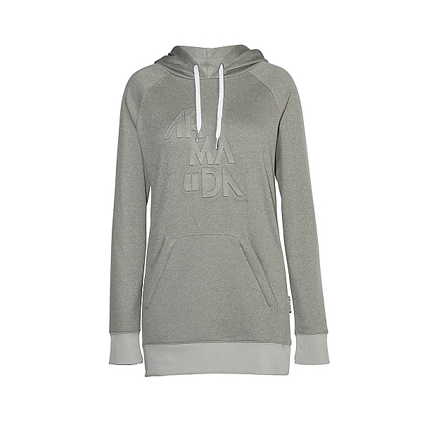 Armada Parker Pullover Womens Hoodie, Heather Grey, 600