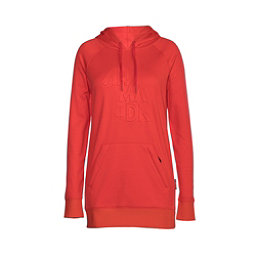 Armada Parker Pullover Womens Hoodie, Hot Coral, 256
