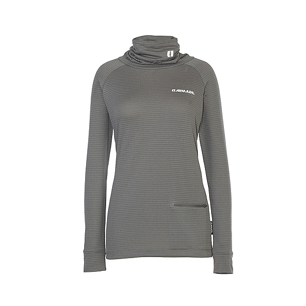Armada Hideout Womens Mid Layer, Heather Grey, 600