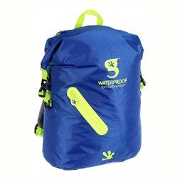 Geckobrands Waterproof Light Backpack 2017, Royal-Bright Green, 256