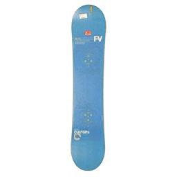 Used Burton Custom Flying V Snowboard Deck Only No Bindings C, , 256
