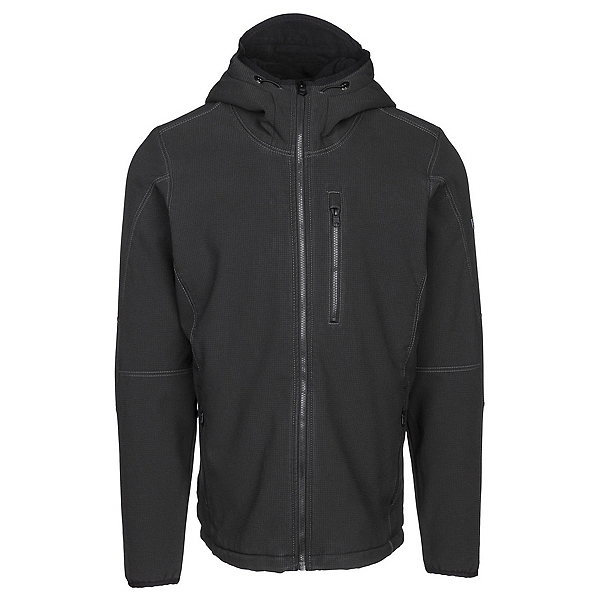 KUHL Relik Hoody Mens Soft Shell Jacket, Carbon, 600