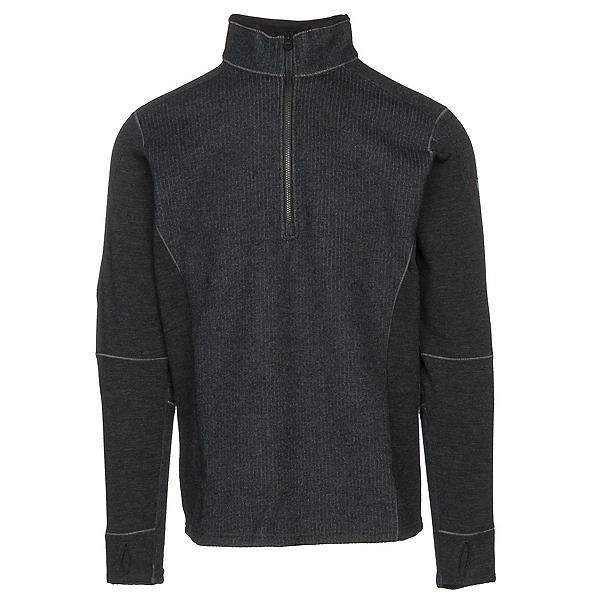 KUHL Skagen 1/4 Zip Mens Sweater, Black, 600