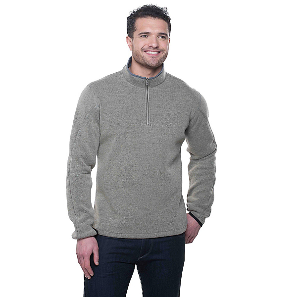 KUHL Thor 1/4 Zip Mens Sweater Previous Year, Oatmeal, 600