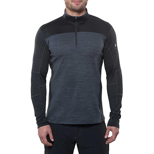 KUHL Ryzer Mens Sweater, Black-Koal, 600
