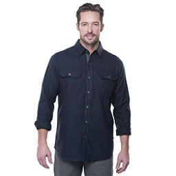 KUHL Descendr Long Sleeve Mens Shirt, Mutiny Blue, 256