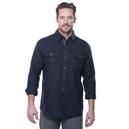 KUHL Descendr Long Sleeve Mens Shirt, Mutiny Blue, 256