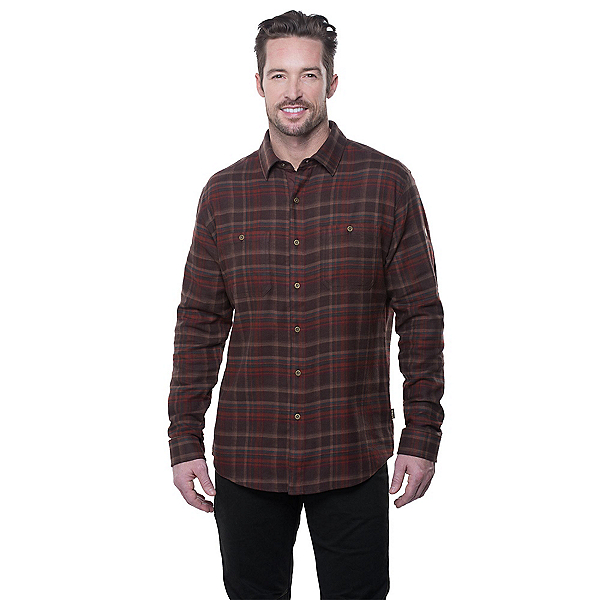 KUHL Fugitive Flannel Shirt, Redwood, 600