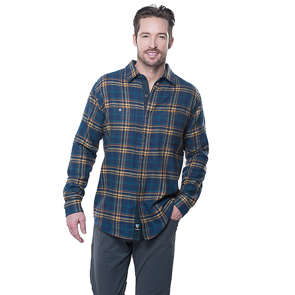 KUHL Fugitive Flannel Shirt, Reflecting Lake, 600
