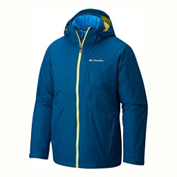 Columbia Whirlibird Interchange Tall Mens Insulated Ski Jacket, Phoenix Blue, 256
