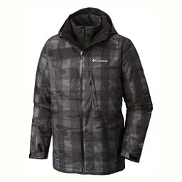 Columbia Whirlibird Interchange Big Mens Insulated Ski Jacket, Black-Camo, 256