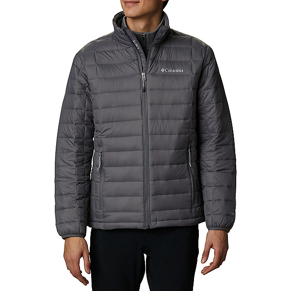 Columbia VooDoo Falls 590 TurboDown - Big Mens Jacket, City Grey, 600