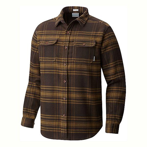 Columbia Deschutes River Flannel Shirt, Canyon Gold Plaid, 600