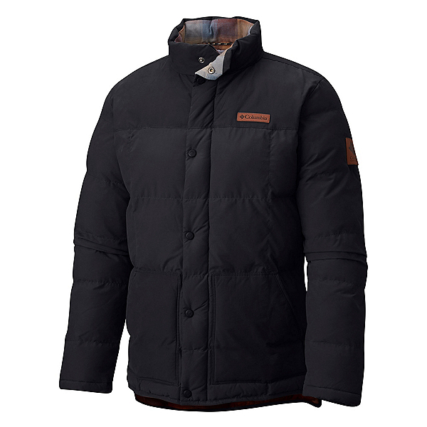 Columbia South Canyon Bluff Mens Jacket, Black, 600