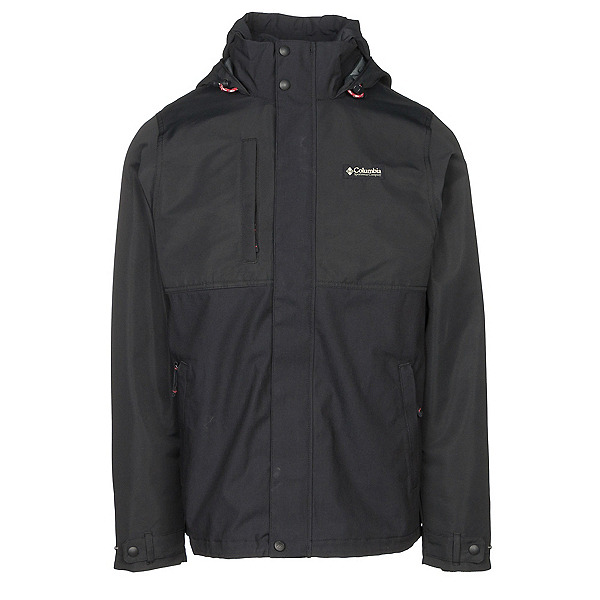 Columbia Jacket of All Trades Mens Jacket, Black, 600