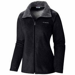 Columbia Dotswarm II Fleece Full Zip Womens Jacket, Black, 256