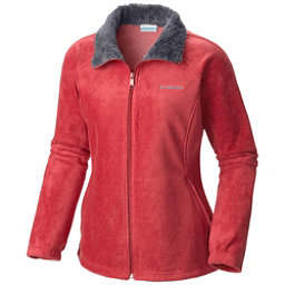 Columbia Dotswarm II Fleece Full Zip Womens Jacket, Red Coral, 256