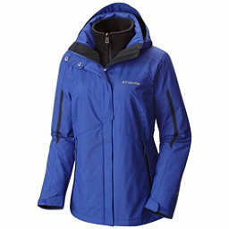 Columbia Bugaboo Interchange Plus Womens Insulated Ski Jacket, Clematis Blue-Black, 256