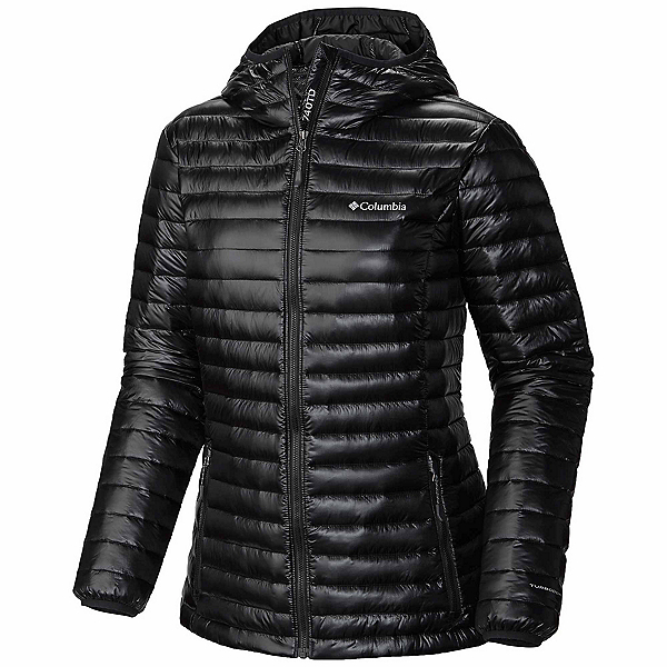 Columbia Platinum Plus 740 TurboDown Womens Jacket, Black, 600