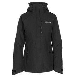 Columbia Herz Mountain Interchange Womens Insulated Ski Jacket, Black, 256