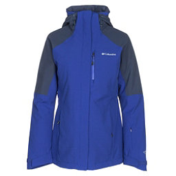 Columbia Herz Mountain Interchange Womens Insulated Ski Jacket, Clematis Blue, 256
