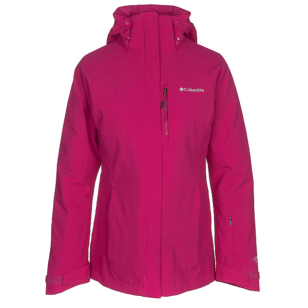 Columbia Herz Mountain Interchange Womens Insulated Ski Jacket, Deep Blush, 600
