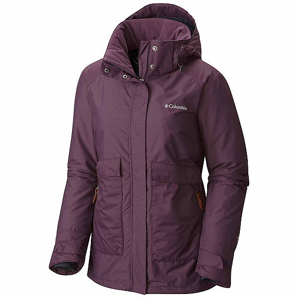 Columbia Alpensia Action Womens Insulated Ski Jacket, Dusty Purple, 600