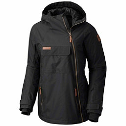 Columbia Catacomb Crest On Snow Anorak Womens Shell Ski Jacket, Black, 256
