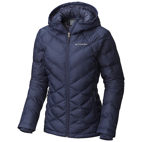 Columbia Heavenly Hooded Womens Jacket, Nocturnal, 600