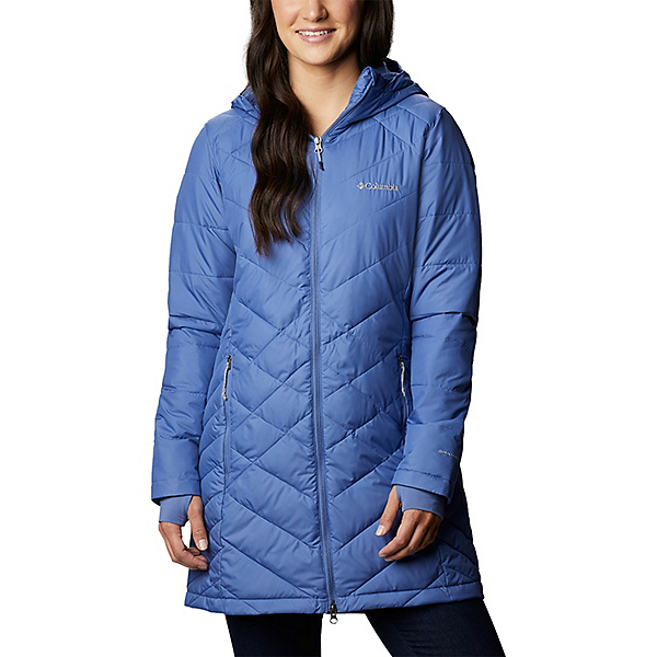 Columbia Heavenly Long Hooded Womens Jacket 2021, Velvet Core, 600