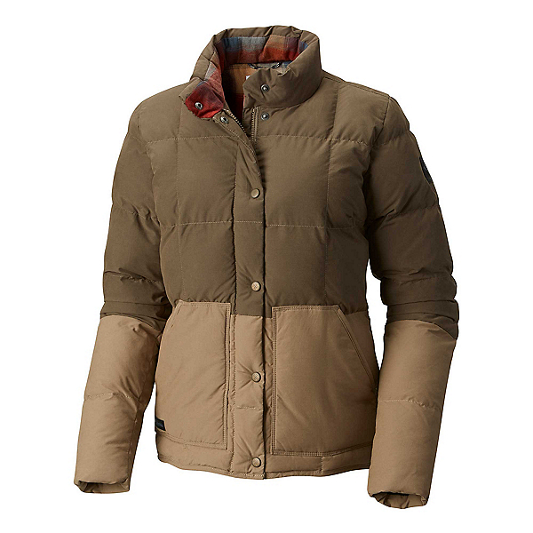 Columbia South Canyon Bluff Womens Jacket, Major-Truffle, 600