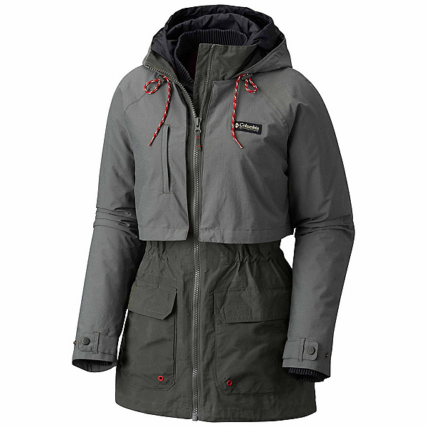 Columbia Jacket Of All Trades Womens Jacket, Gravel, 600